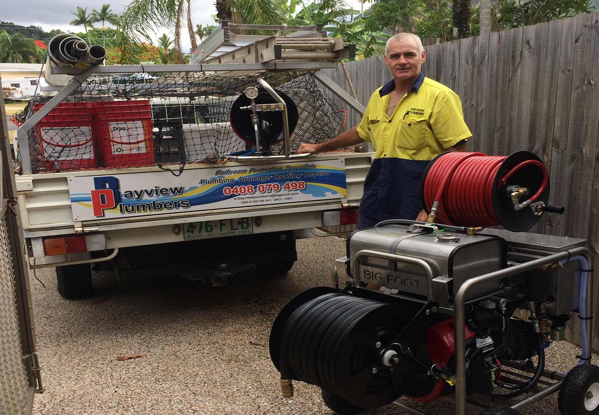Friendly reliable affordable plumber cairns plumbing image